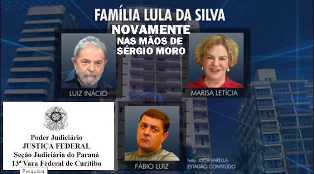 Lava Jato retoma investigações sobre Lula e familiares após sinal verde do STF. Moro reativou processos