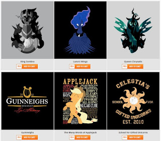 MLP T-Shirt Sale at Unamee - $11 Each!