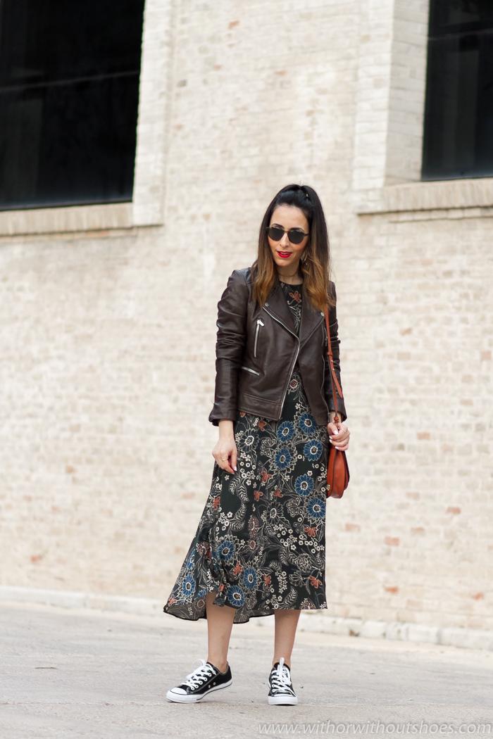 Bloggers influencers Valencianas con outfit comodo bonito para mamas andar Valencia