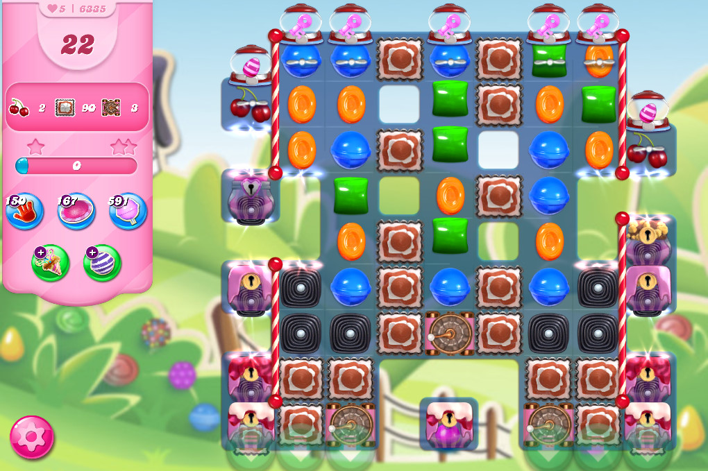 Candy Crush Saga level 6335