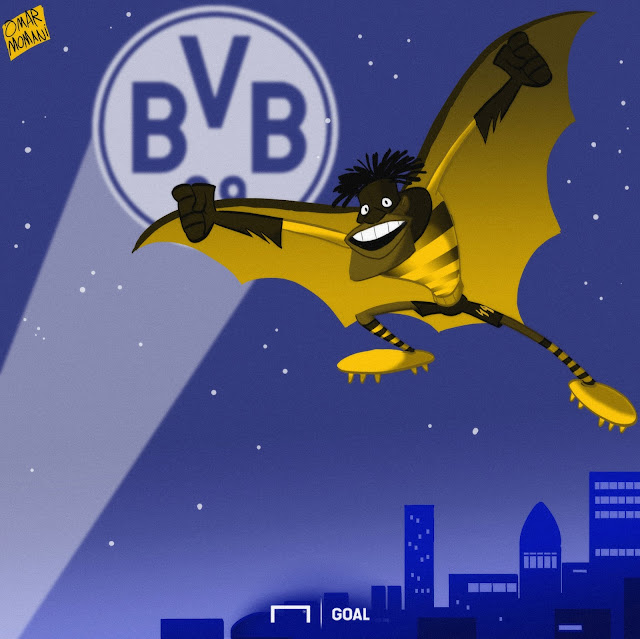 Michy Batshuayi cartoon
