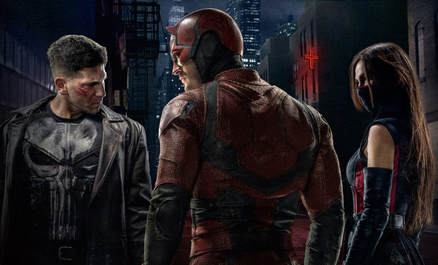 Nueva foto y vídeo de 'Daredevil' con Jon Bernthal como Punisher en plena acción