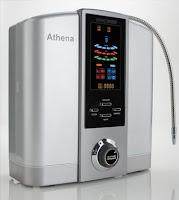 water ionizer, athena, alkaline water