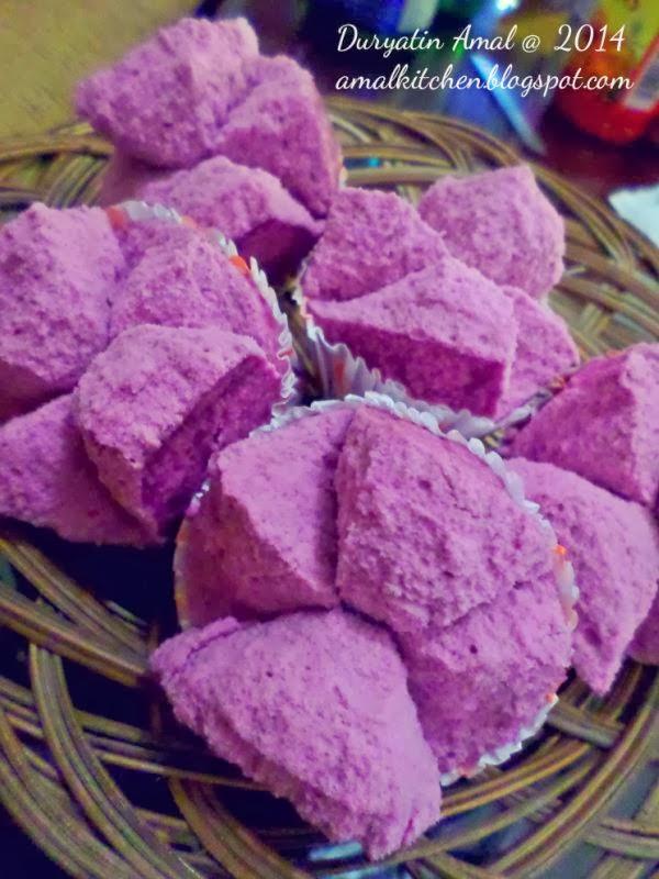 Resep Bolu Kukus Ubi Ungu : resep, kukus, Amal's, Kitchen, Simple, Recipes:, Kukus, Mekar