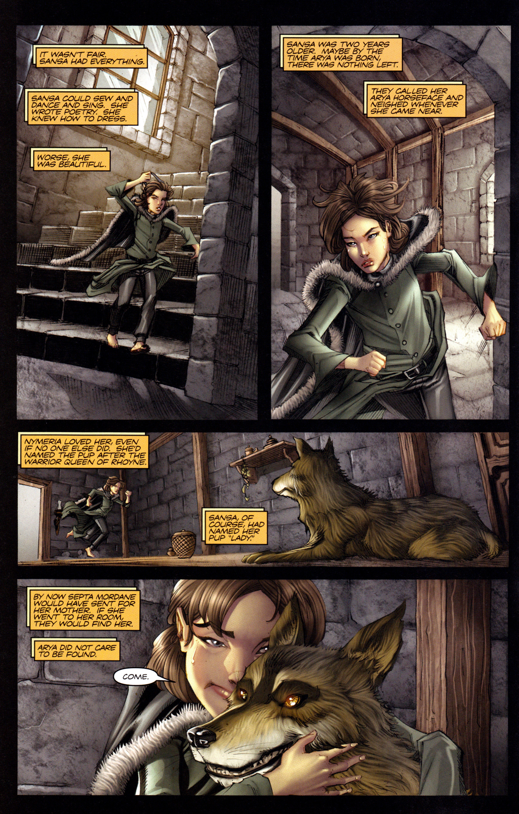 Read online A Game Of Thrones comic -  Issue #3 - 6