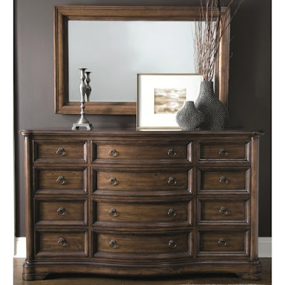Montebella Dressing Chest and Mirror at Baer's Furniture