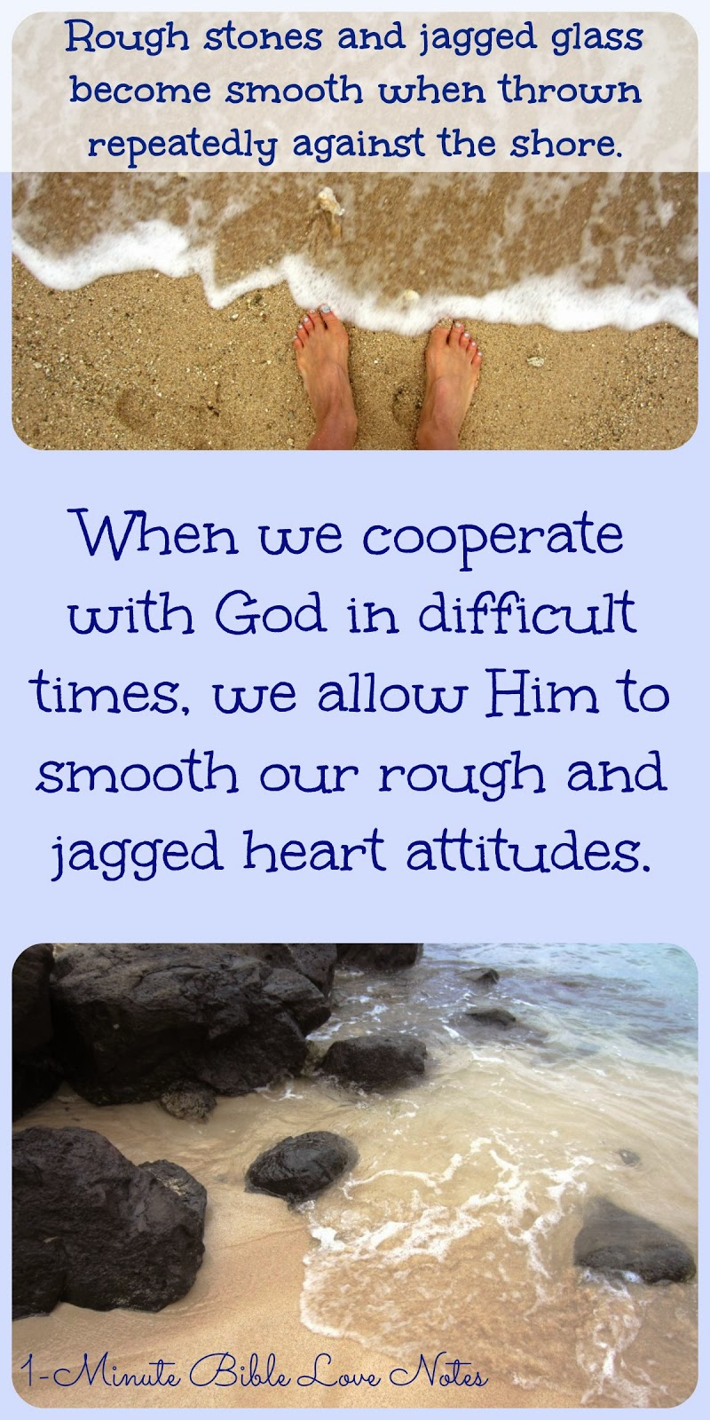 Hebrews 11, God disciplines, Hardships soften and smooth our rough edges