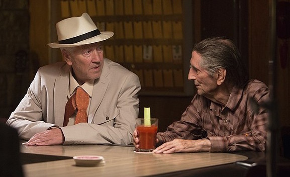 "David Lynch, Harry Dean Stanton, ""Lucky"","