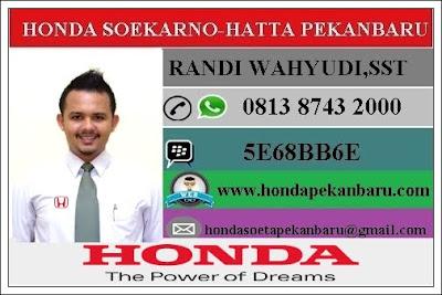 Paket Kredit Mobil Honda DP Ringan Pekanbaru Riau Januari 2017