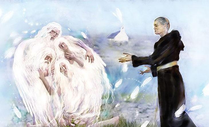 Kelt mitolojisi, mitoloji, din ve mitoloji, İrlanda mitolojisi,Kelt efsaneleri,Peri,Leprikon,Fin McCool,3 Yapraklı yonca,Aziz Patrick,Lir'in çocukları,A,Dagda'nın arpı,Pooka,Ölüm perisi, efsaneler,