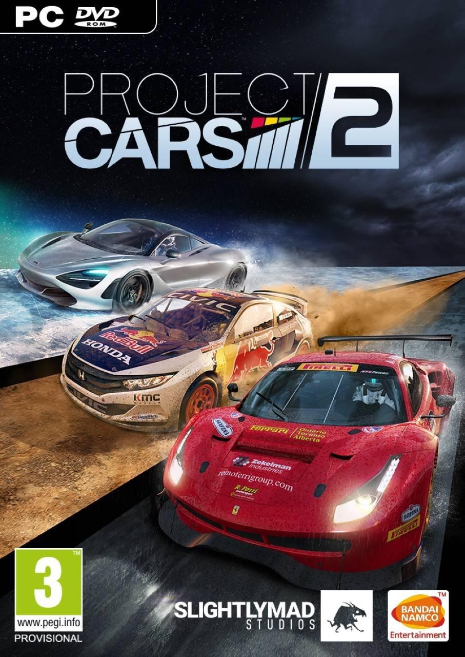 Project CARS 2 - Todas sus ediciones y contenido Pc