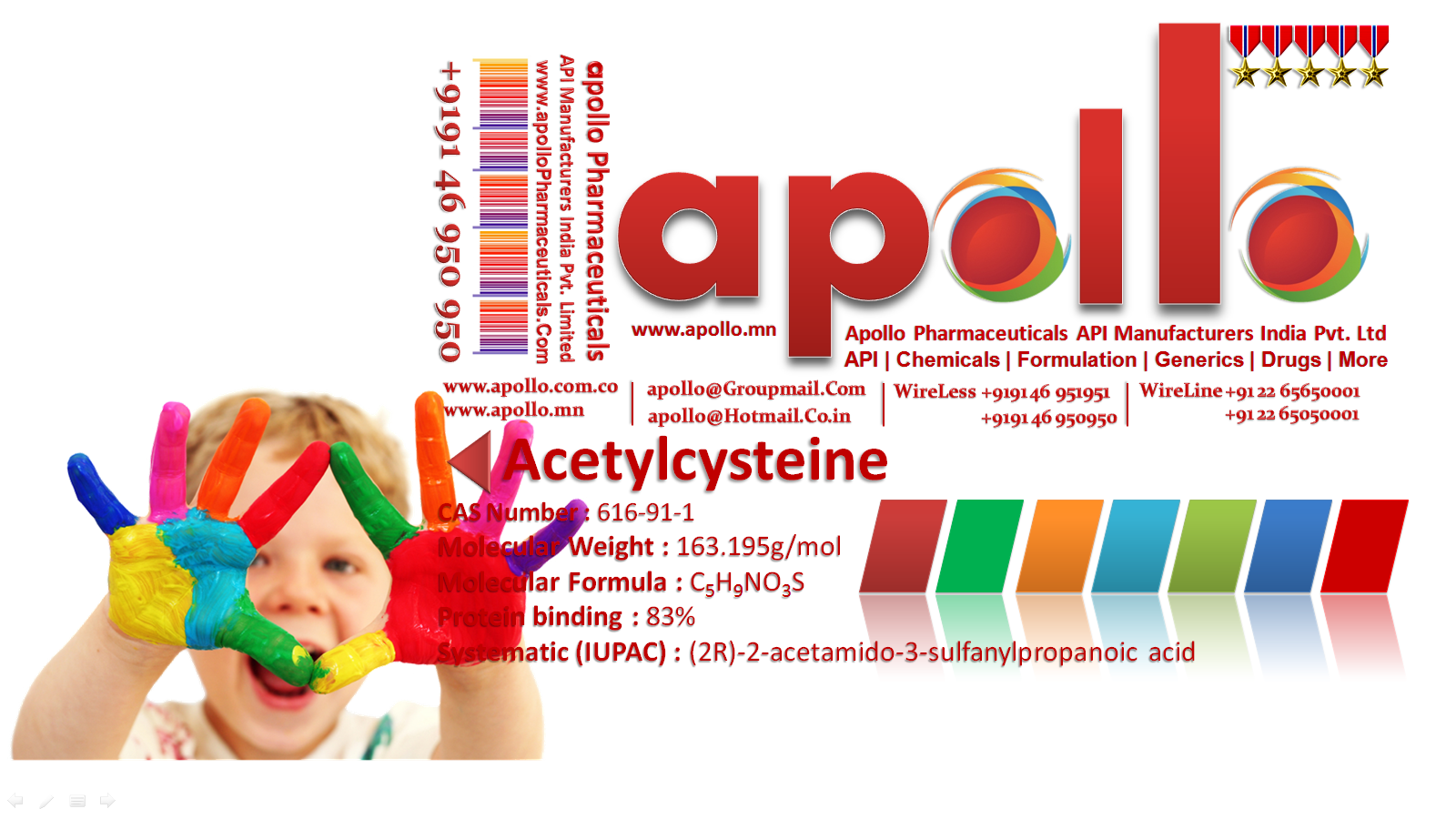 Acetylcysteine | apollo | +919146950950