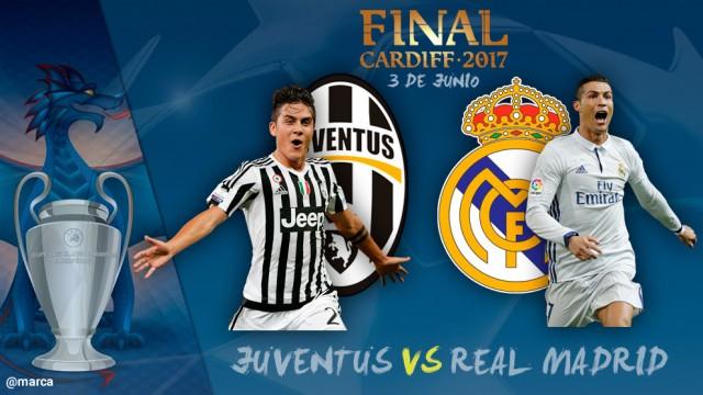 Final Liga Champions 2017: Juventus vs Real Madrid