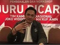 Farhat Abbas Dipecat sebagai Juru Bicara TKN Jokowi-Ma'ruf Amin