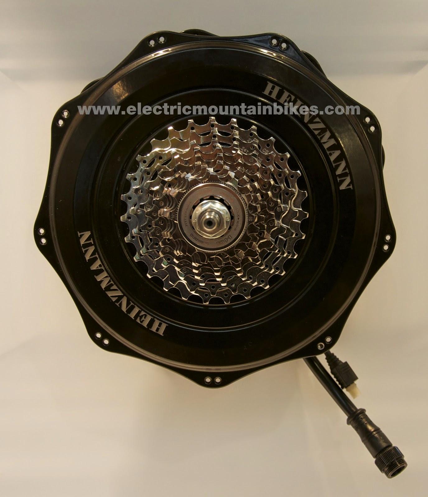 Electric Motor Retrofit Kit: ElectricMountainBikes.com: Heinzmann Direct Drive Retrofit Kit