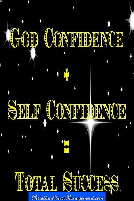 God Confidence + Self Confidence = Total Success