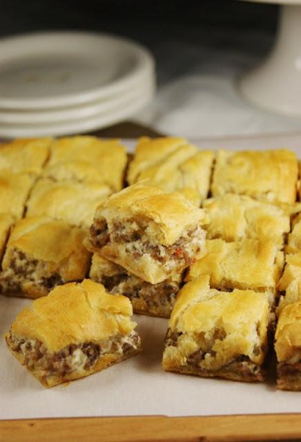 Recipes to Make with Sausage - Crescent Sausage Bites Image