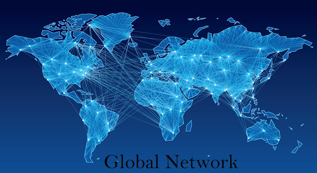 global network, global network structure
