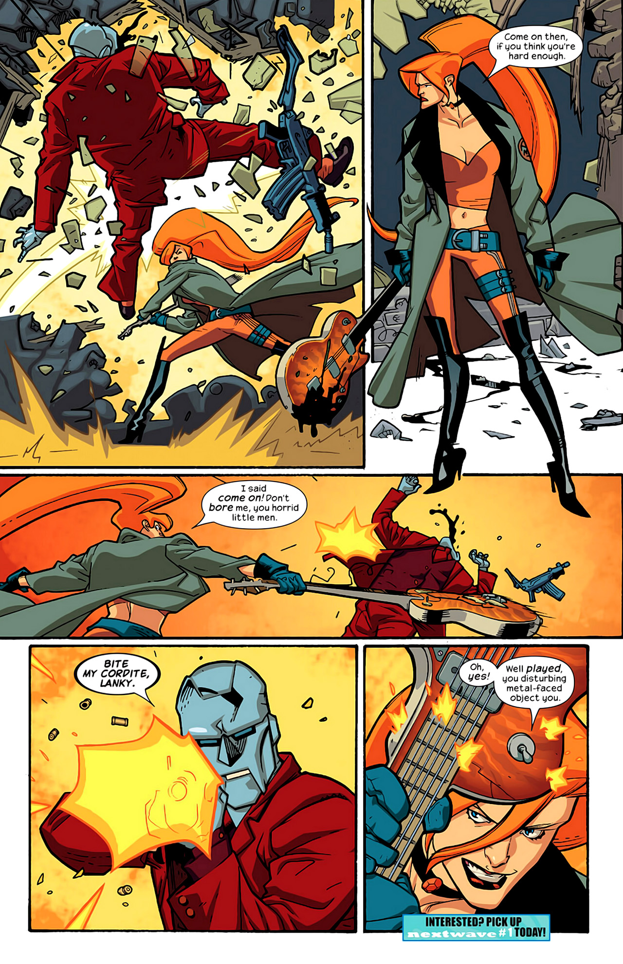 Read online Ultimate Extinction comic -  Issue #2 - 33