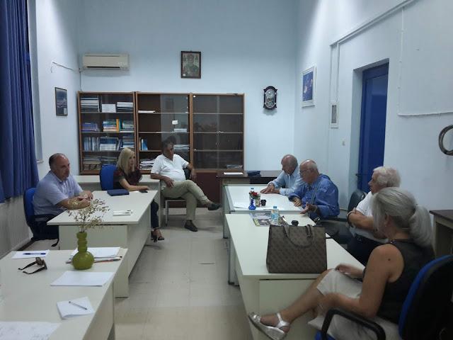 Πρέβεζα: Επίσκεψη στις εγκαταστάσεις της ΑΕΝ Ηπείρου, πραγματοποίησε ο ιδρυτή της Eταιρείας ''ΤSAKOS SHIPPING & TRADING S.A.'', καπετάν Π.Τσάκος