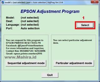Resetter Epson L220 Full