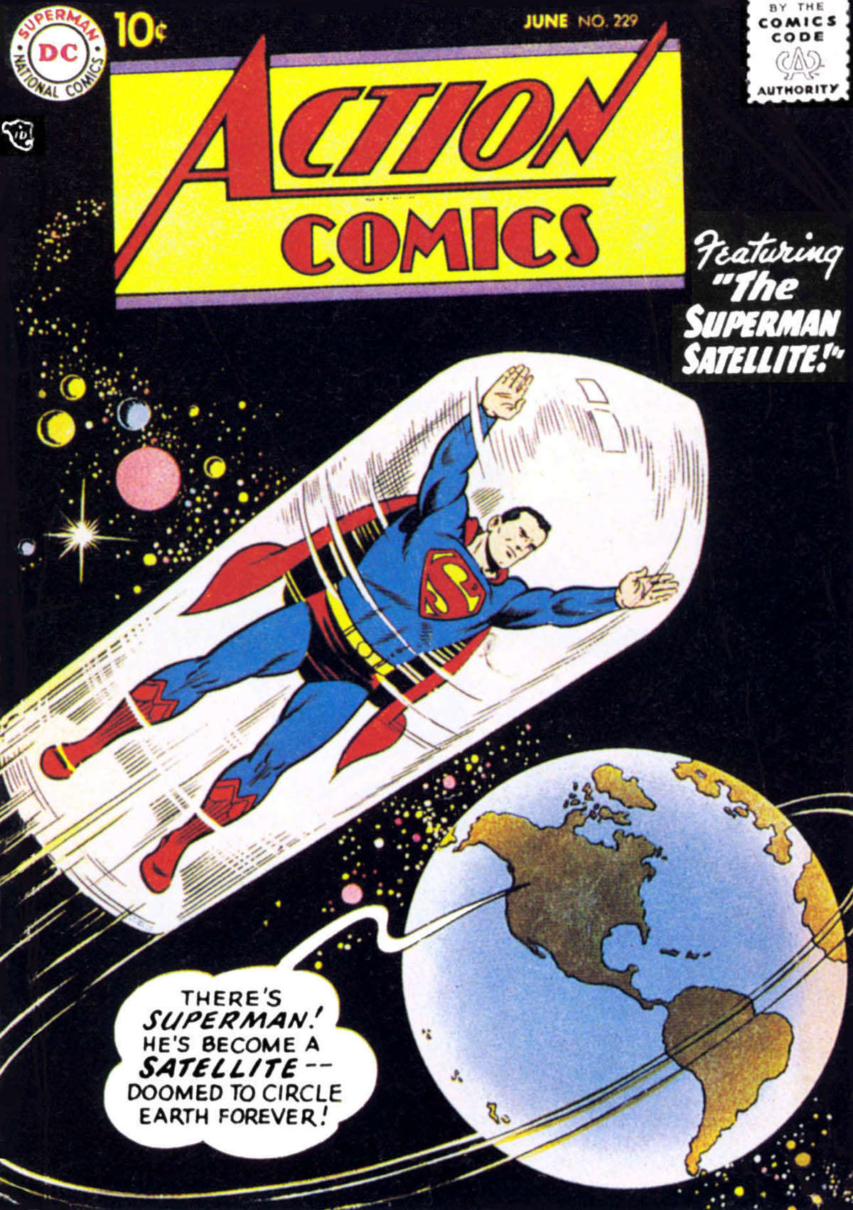 Read online Action Comics (1938) comic -  Issue #229 - 1