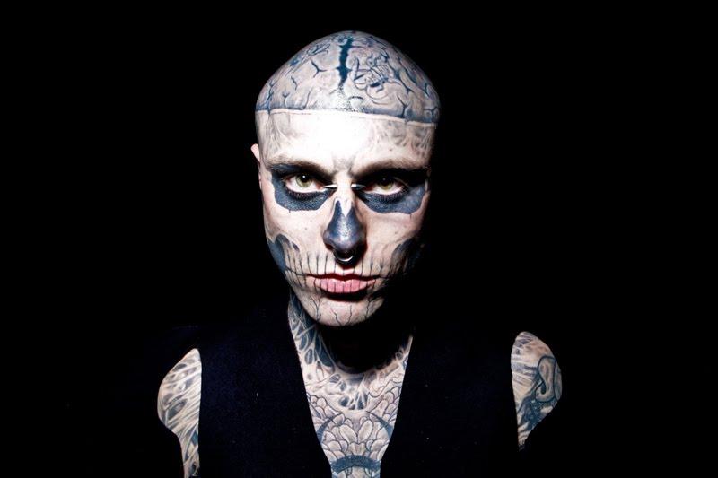 rick genest zombie boy - photo #2