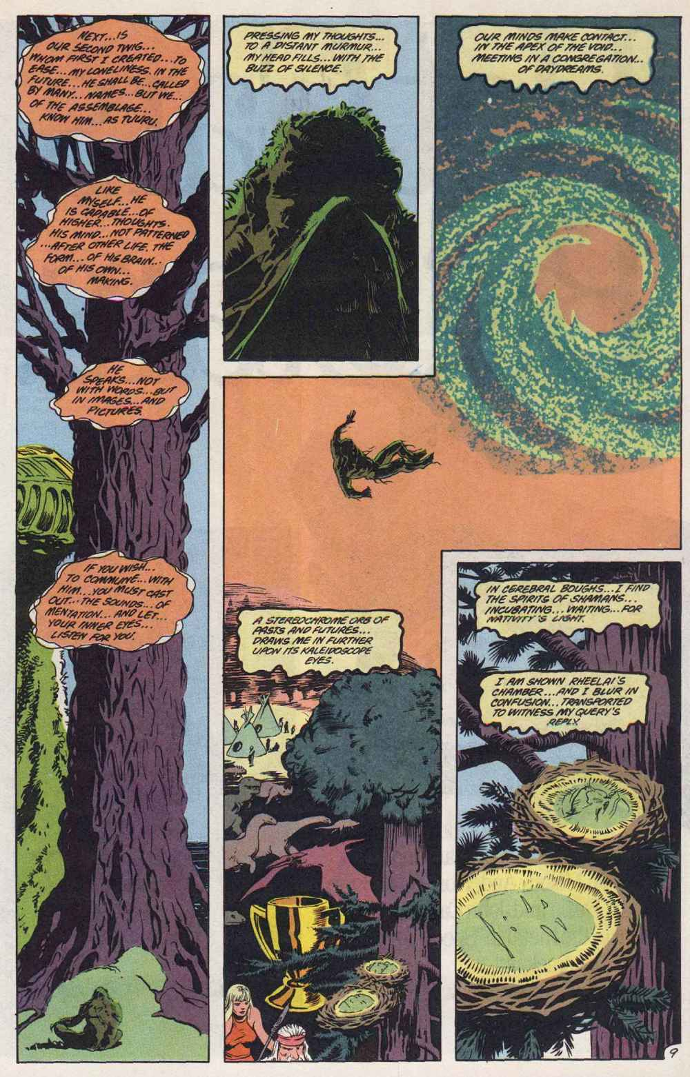 Swamp Thing (1982) Issue #89 #97 - English 10