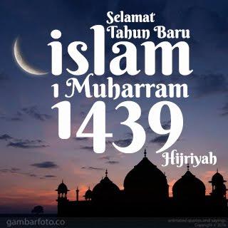 Gambar Ucapan Tahun Baru Hijriah 1439 H