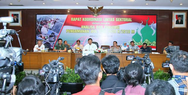 Panglima TNI Ikuti Rapat Koordinasi Lintas Sektoral