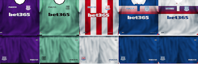 PES 6 Premier League Kitpack Season 2017/2018