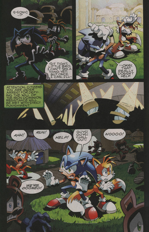 Read online Sonic The Hedgehog comic -  Issue #208 - 9
