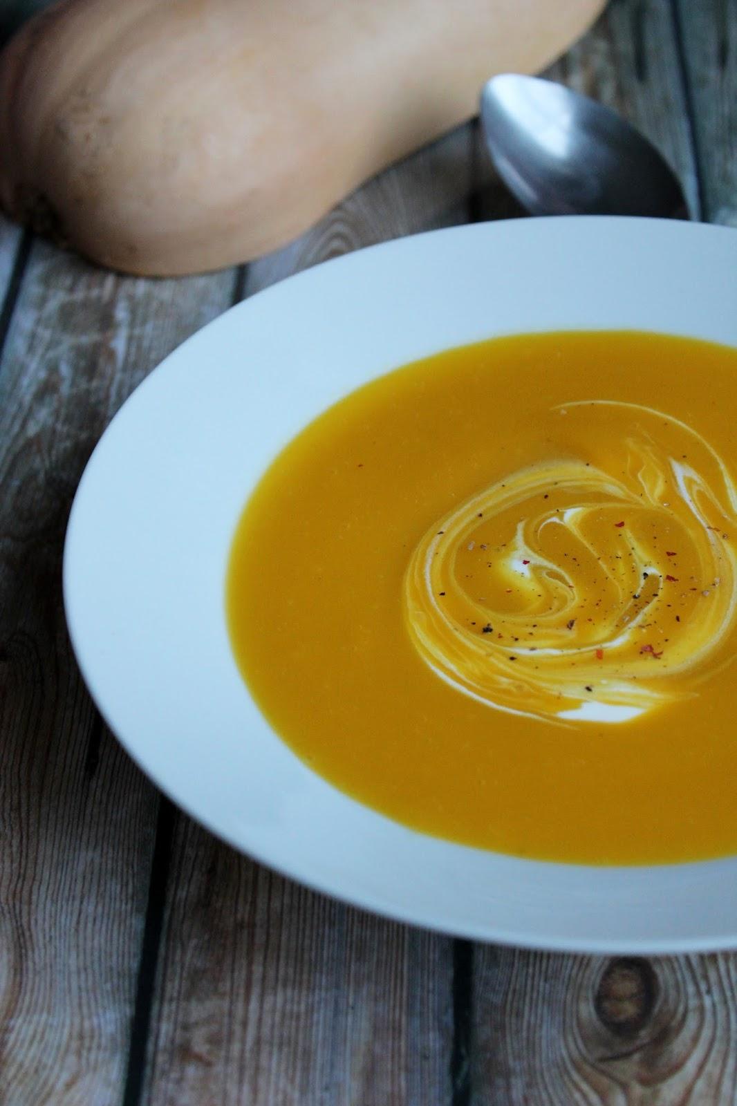 Soupe de butternut - Soupe butternut thermomix ...