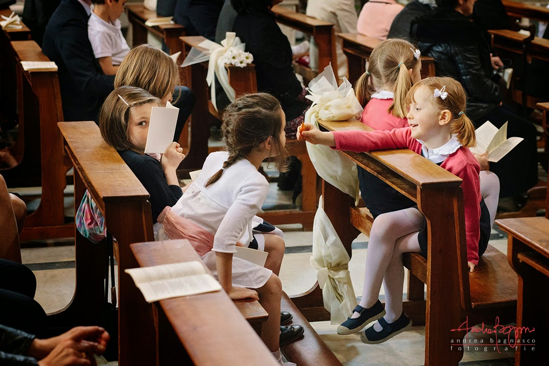bambini alla cerimonia matrimonio Genova Castelletto