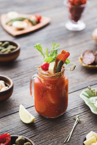 Four Bloody Mary recipes, photo by Brent Harrewyn