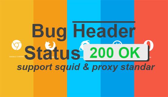 Kumpulan Bug All Operator  200 OK dan Cara Mencarinya image