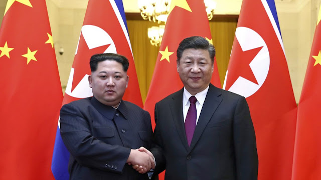 A visita do líder norte-coreano Kim Jong-un à China