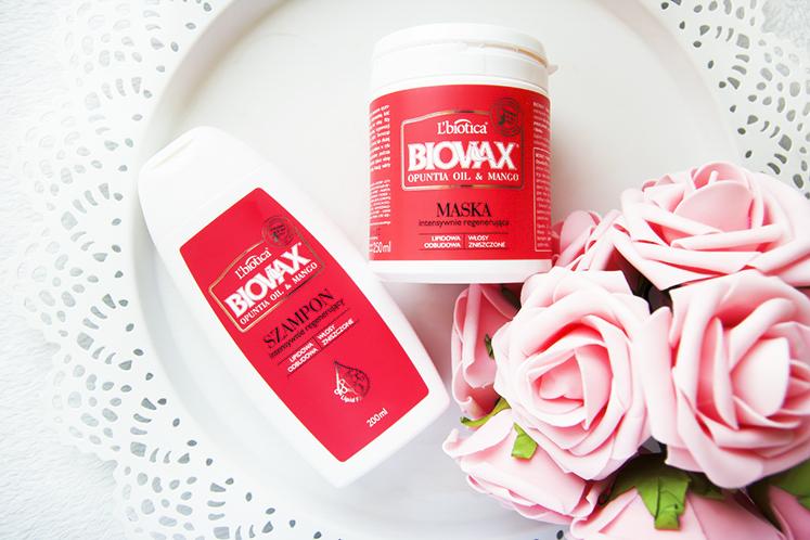 Biovax Opuntia Oil Mango Maska szampon