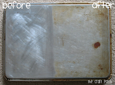 The Craft Patch Pinterest Tested Cleaning Cookie Sheets