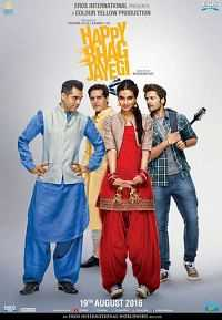 Happy Bhaag Jayegi 2016 Hindi 300mb DVDRip