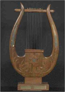 Lyre is an ancient musical intrument
