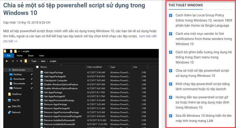Chia sẻ code sticky sidebar widget scroll jquery chạy ổn định, dễ cài đặt và tùy chỉnh