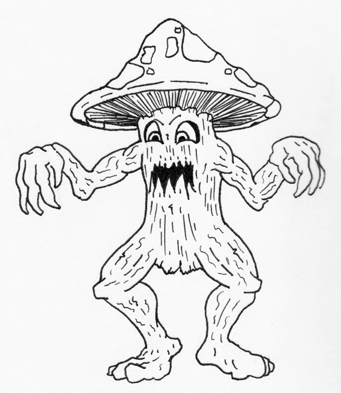 jared unzipped draw something mushroom monster 2012 RAV4 Green look out the mushroom monster is ing for you better prepare your knives slice it up and cook it before it cooks you