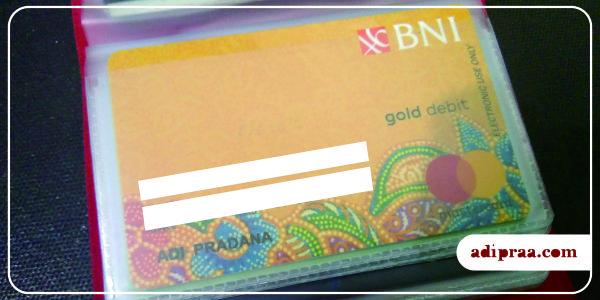 Kartu ATM BNI Gold | adipraa.com