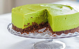 žaliosios citrinos pyragas