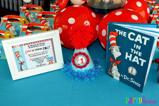 the cat in the hat book and frame