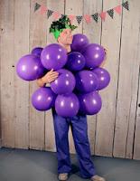 disfraz de racimo de uva