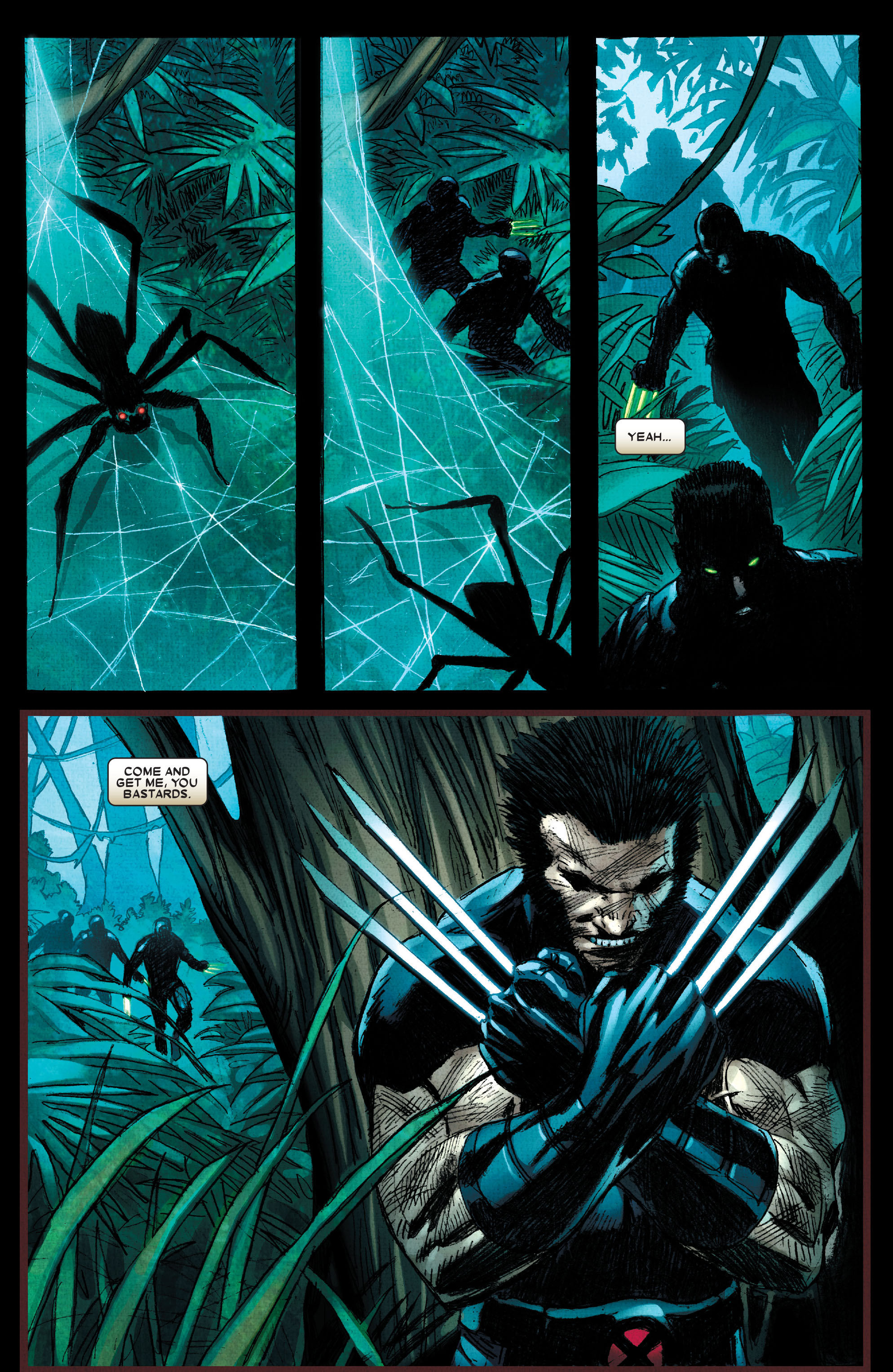 Read online Wolverine: Weapon X comic -  Issue #2 - 24