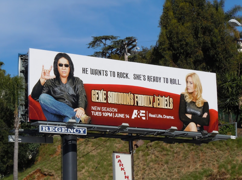 Gene Simmons Family Jewels 6 billboard