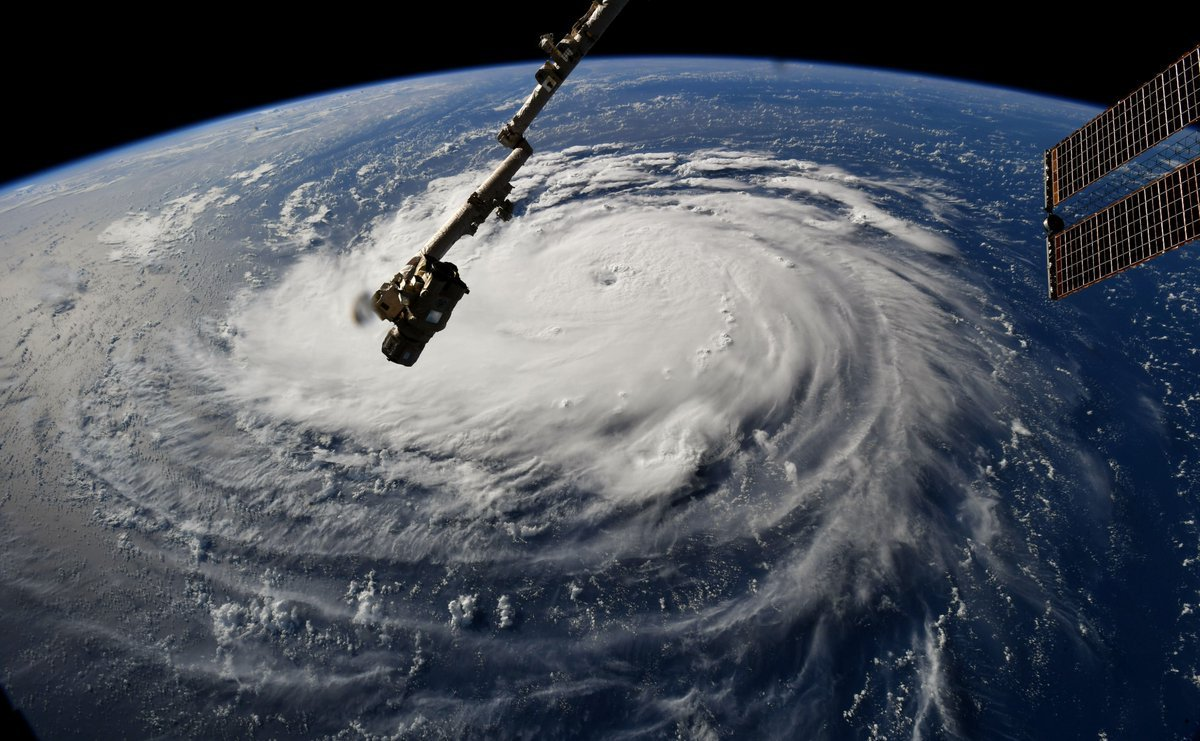 Astronauts Are Capturing Chilling Hurricane Florence Pictures From The ISS